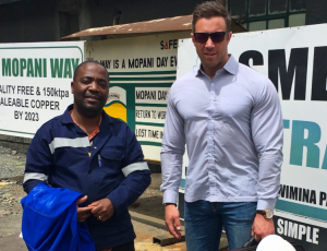 Customer visits in Zambia