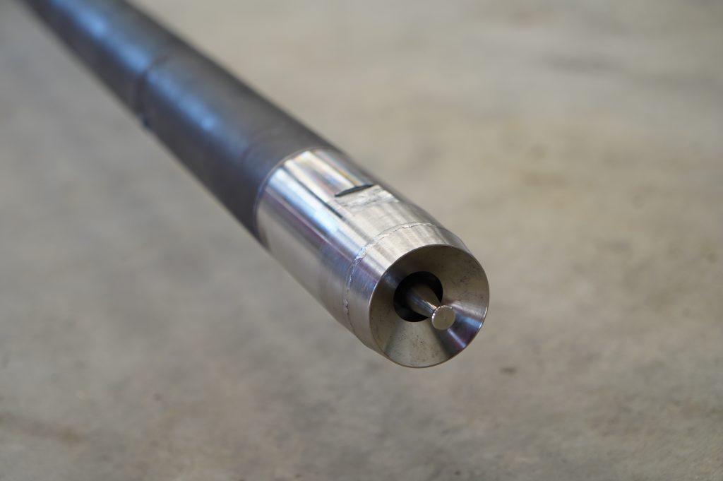 six meter burner lance for LKAB rotary kiln